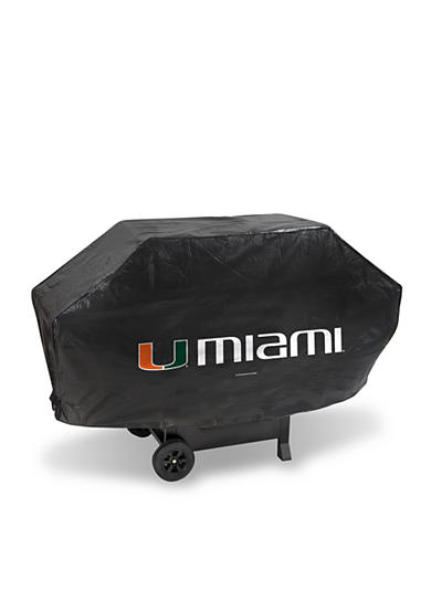 Rico Industries Miami Hurricanes Deluxe Grill Cover