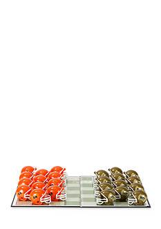 Rico Industries Syracuse Orange Checker Set