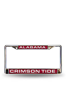 Rico Industries Alabama Red Chrome License Frame