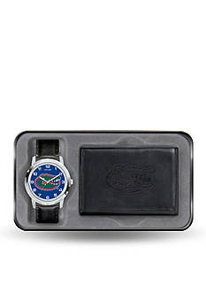 Rico Industries Florida Gators Black Watch and Wallet Gift Set-Online Only