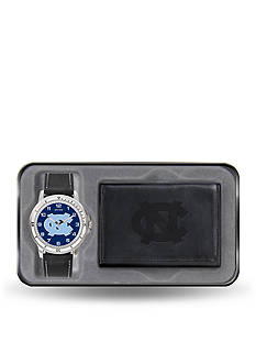 Rico Industries UNC Black Watch And Wallet Gift Set-Online Only