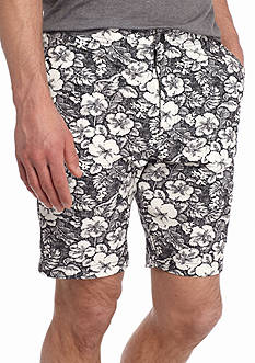 Red Camel® Hybrid Size Zip Floral Shorts