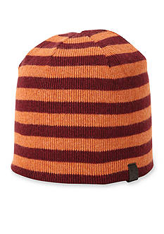 Original Penguin Striped Knit Beanie Cap
