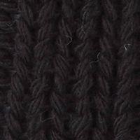 Men's Accessories: Hats & Caps: Black Original Penguin Cable Knit Watch Cap w/ Pom