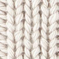 Men's Accessories: Hats & Caps: Silver Gray Original Penguin Cable Knit Watch Cap w/ Pom