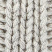 Men's Accessories: Hats & Caps: Light Ash Original Penguin Cable Knit Watch Cap w/ Pom
