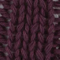 Men's Accessories: Hats & Caps: Italian Plum Original Penguin Cable Knit Watch Cap w/ Pom