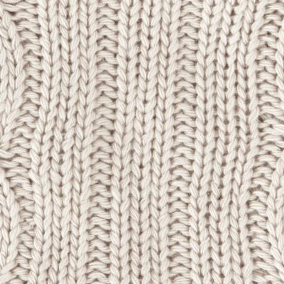 Mens Winter Scarves: Silver Grey Original Penguin Cable Knit Scarf