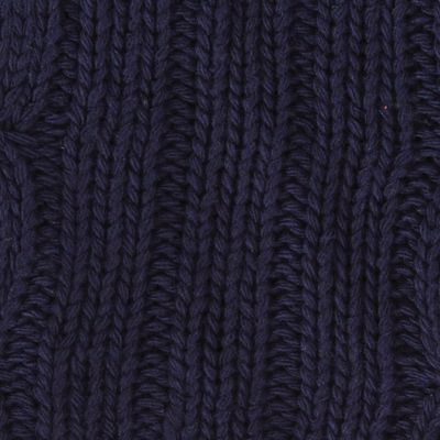Mens Winter Scarves: Dark Sapphire Original Penguin Cable Knit Scarf
