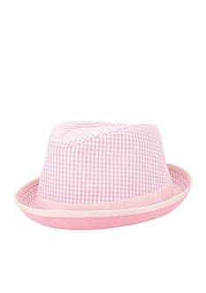 Original Penguin 'Miramar' Gingham Fedora Hat