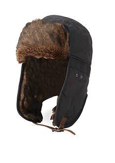 Original Penguin® Waxed Cotton Trapper Hat