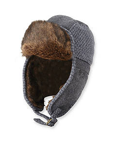 Original Penguin Wool Trapper Hat