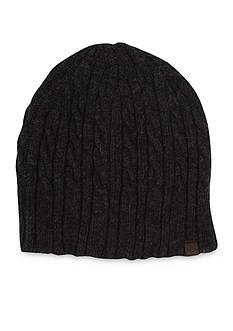 Haggar Cable Knit Beanie Cap
