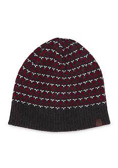 Haggar® Geo Pattern Knit Beanie Cap