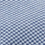 Young Mens Activewear: Golf: Blue Haggar Houndstooth Seam Driving Cap