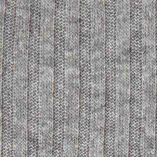 Mens Winter Scarves: Neutral Gray Haggar Heathered 2 Tone Scarf