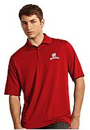 Antigua® Wisconsin Badgers Exceed Polo