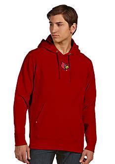 Antigua Louisville Cardinals Signature Hoodie