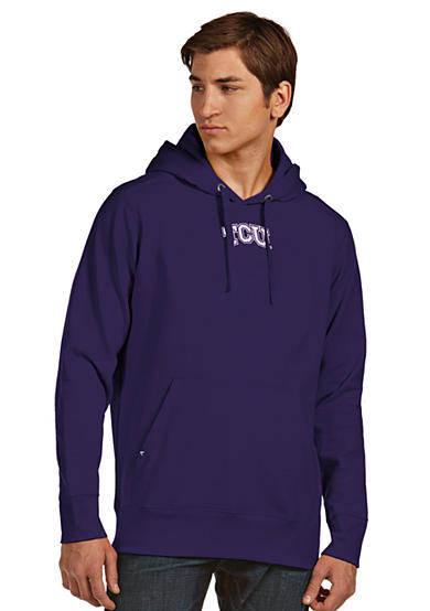 Antigua® Texas Christian Horned Frog Men's Signature Hoodie