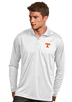 Antigua Tennessee Volunteers Long Sleeve Exceed Polo