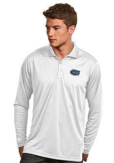 Antigua Florida Gators Long Sleeve Exceed Polo