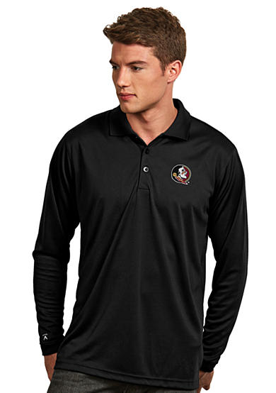 Antigua® Florida State Seminoles Long Sleeve Exceed Polo