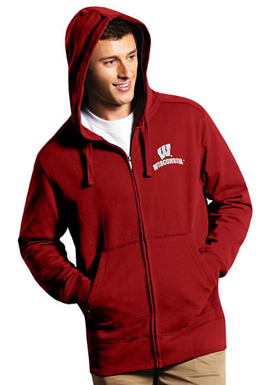 Antigua® Wisconsin Badgers Full Zip Hood