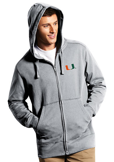 Antigua® Miami Hurricanes Full Zip Hood