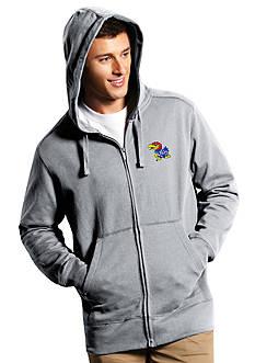 Antigua® Kansas Jayhawks Men's Full Zip Hoodie