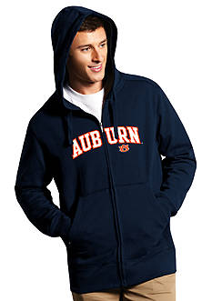 Antigua® Auburn Tigers Split Applique Full Zip Hoodie