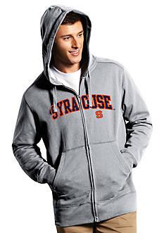 Antigua® Syracuse Orange Split Applique Full Zip Hoodie