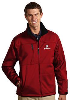Antigua® Wisconsin Badgers Traverse Jacket