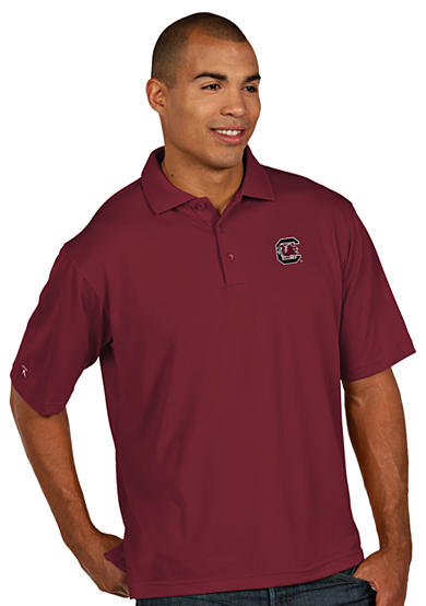 Antigua® South Carolina Gamecocks Pique Xtra Lite Polo
