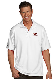 Antigua Virginia Tech Hokies Men's Pique Xtra Lite Polo