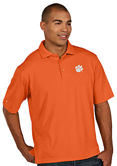 Antigua® Clemson Tigers Pique Xtra Lite Polo