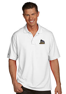 Antigua James Madison Dukes Men's Pique Xtra Lite Polo