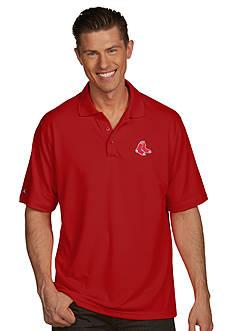 Antigua® Boston Red Sox Pique Xtra Lite Polo