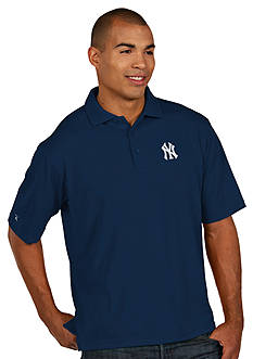 Antigua New York Yankees Pique Xtra Lite Polo