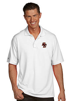 Antigua Boston College Eagles Men's Pique Xtra Lite Polo