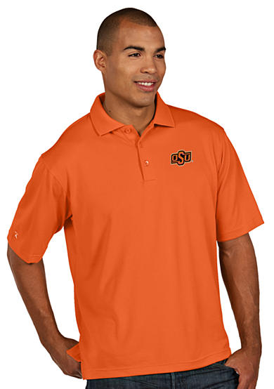 Antigua® Oklahoma State Cowboys Men's Pique Xtra Lite Polo