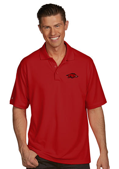 Antigua® Arkansas Razorbacks Pique Xtra Lite Polo