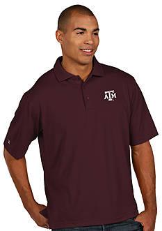 Antigua Texas A & M Aggies Pique Xtra Lite Polo
