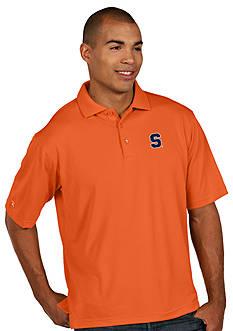 Antigua® Syracuse Orange Pique Xtra Lite Polo