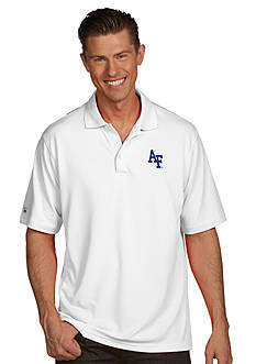 Antigua Air Force Falcons Men's Pique Xtra Lite Polo