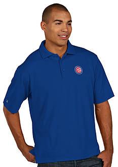 Antigua Chicago Cubs Pique Xtra Lite Polo