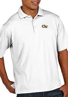 Antigua Georgia Tech Yellow Jackets Men's Pique Xtra Lite Polo