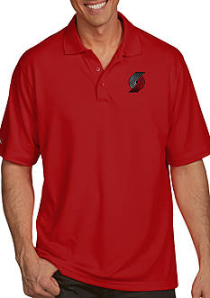Antigua® Portland Trailblazers Mens Pique Xtra Lite Polo