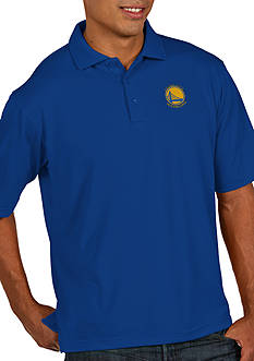 Antigua® Golden State Warriors Mens Pique Xtra Lite Polo