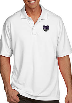 Antigua® Sacramento Kings Mens Pique Xtra Lite Polo