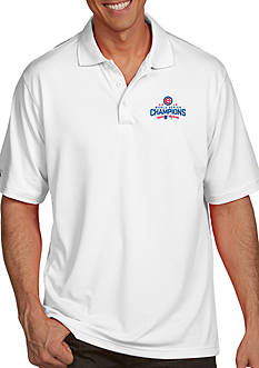 Antigua Chicago Cubs 2016 World Series Champs Mens Polo